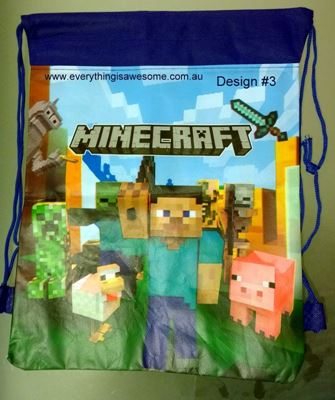 Picture of Minecraft Library Bag Design #3