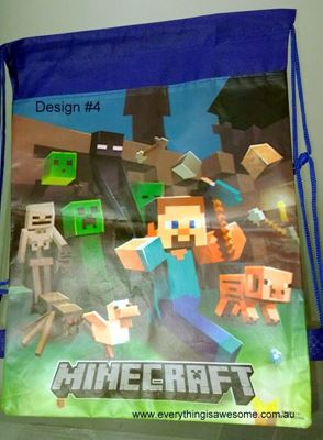 Picture of Minecraft Library Bag Design #4