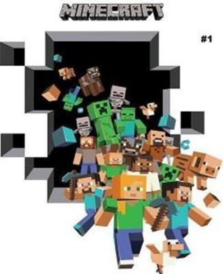 Picture of New Minecraft Wall Decal Sticker # 1