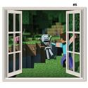 Picture of New Minecraft Wall Decal Sticker # 5