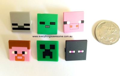 Picture of New 12 pcs Minecraft Pins Badges