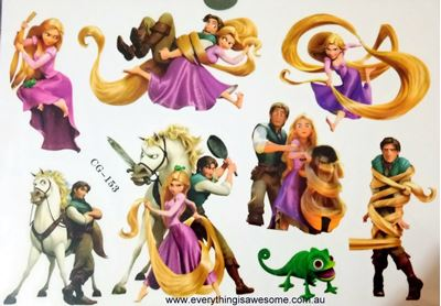 Picture of Disney Princess Tangled Temporary Tattoo