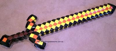 Picture of New Inflatable Minecraft Sword Yellow