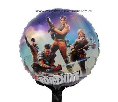 Picture of New 5 pcs Fortnite Foil Balloon