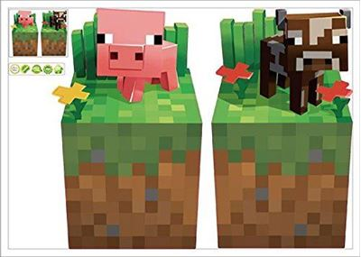 Picture of New Minecraft Wall Decal Sticker # 11