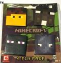 Picture of New 4 pcs  Minecraft Pins Badges #4
