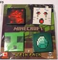 Picture of New 4 pcs  Minecraft Pins Badges #5