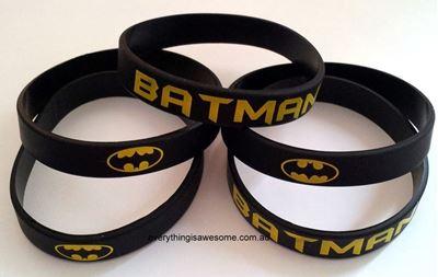 Picture of 10 pcs Batman Superhero Wristbands Bracelets
