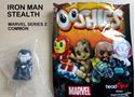 Picture of New MARVEL OOSHIES Pencil Topper - IRON MAN STEALTH