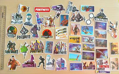 Picture of 46 pcs Fortnite Mini Stickers
