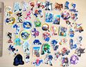 Picture of 50 pcs Sonic the Hedgehog Mini Stickers