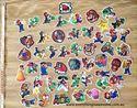 Picture of 50 pcs Super Mario Bros  Mini Stickers