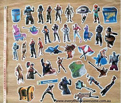 Picture of 40 pcs Fortnite Battle Royale Mini Stickers